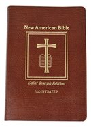 Nab St. Joseph New American Bible, the Giant Print Brown Imitation Leather