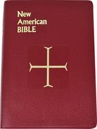 Nab St. Joseph Gift Bible, the Large Red Imitation Leather