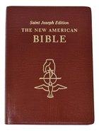 Nab Saint Joseph Bible Large Brown Imitation Leather