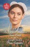 The Amish Widow's New Love/Plain Outsider (Love Inspired 2 Books In 1 Series) Mass Market