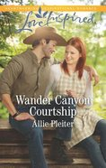 Wander Canyon Courtship (Matrimony Valley) (Love Inspired Series) Mass Market