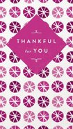 Thankful For You eBook