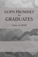 God's Promises For Graduates: Class of 2020 - Silver Camouflage NIV Hardback
