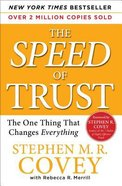 The Speed of Trust Paperback