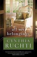 All My Belongings Paperback