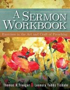 A Sermon Workbook Paperback
