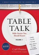 Table Talk Devotions #01: Bible Stories You Should Know Paperback