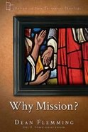 Why Mission? Paperback