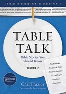 Table Talk Devotions #02: Bible Stories You Should Know Paperback