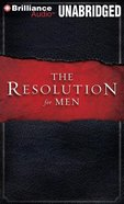 The Resolution For Men (Unabridged, 8 Cds) CD