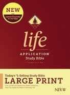 NIV Life Application Study Bible Third Edition Large Print (Black Letter Edition) Hardback