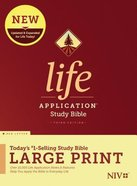 NIV Life Application Study Bible Third Edition Large Print (Red Letter Edition) Hardback