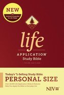 NIV Life Application Study Bible Third Edition Personal Size (Black Letter Edition) Hardback