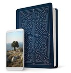 NLT Filament Bible Blue (Black Letter Edition) (The Print+digital Bible) Imitation Leather