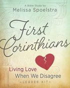 First Corinthians Women's Bible Study (Leader Kit) Pack