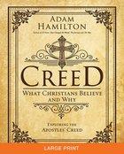 Creed (Large Print) Paperback