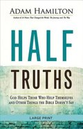 Half Truths (Large Print) Paperback