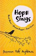 Hope Sings Paperback