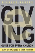 The E-Giving Guide For Every Church Paperback