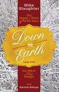 Down to Earth [Large Print] Paperback