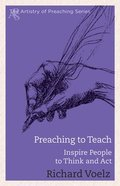 Preaching to Teach eBook