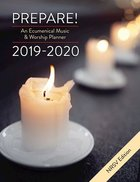 Prepare! 2019-2020 NRSV Edition: An Ecumenical Music & Worship Planner Spiral