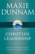 Christian Leadership Paperback