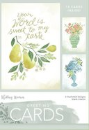 Boxed Cards Blank: Your World, 15 Cards and Envelopes, 3 Designs Box