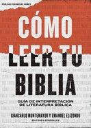 Cmo Leer Tu Biblia eBook