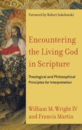 Encountering the Living God in Scripture Hardback