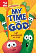 My Time With God: 365 Daily Devos For Boys (Veggie Tales (Veggietales) Series) Paperback