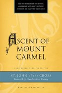 Ascent of Mount Carmel (Paraclete Essentials Series) Paperback