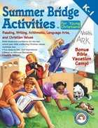 Summer Bridge Activities For Young Christians (Grades K-1) Paperback