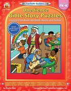 Obedience Bible Story Puzzles (Grades Pk-K) (Fun Faith-builders Series) Paperback