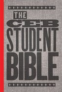 Ceb Student Bible United Methodist Confirmation Edition Hardback