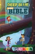 Ceb Deep Blue Kids Bible Celebrate Wonder Edition Hardback