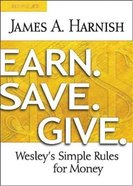 Earn. Save. Give. (Leader Guide) Paperback