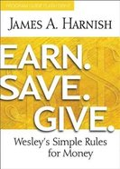 Earn. Save. Give. (Program Guide) Paperback
