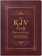 The KJV Daily Devotional Journal Paperback