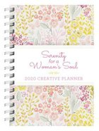 2020 17-Month Creative Diary/Planner: Serenity For a Woman's Soul Spiral