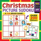 Christmas Picture Sudoku: A Fun Brain Game (Over 200 Stickers) Paperback