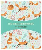 Fun Bible Crosswords: 99 Puzzles! Paperback