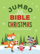 Jumbo Bible Christmas Activity & Trivia Fun Paperback