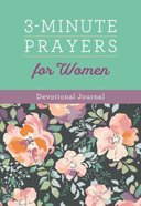 3-Minute Prayers For Women Devotional Journal Spiral