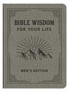 Bible Wisdom For Your Life (Men's Edition) Imitation Leather