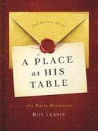 A Place At the Table: 365 Daily Devotions Paperback