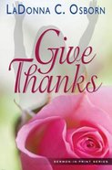 Give Thanks eBook