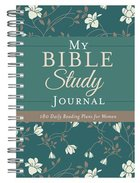 My Bible Study Journal: 180 Encouraging Bible Readings For Women Spiral