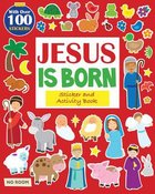 Jesus is Born Sticker Book (I'm Learning The Bible Activity Book Series) Paperback