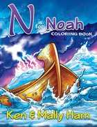 N is For Noah Coloring Book Paperback